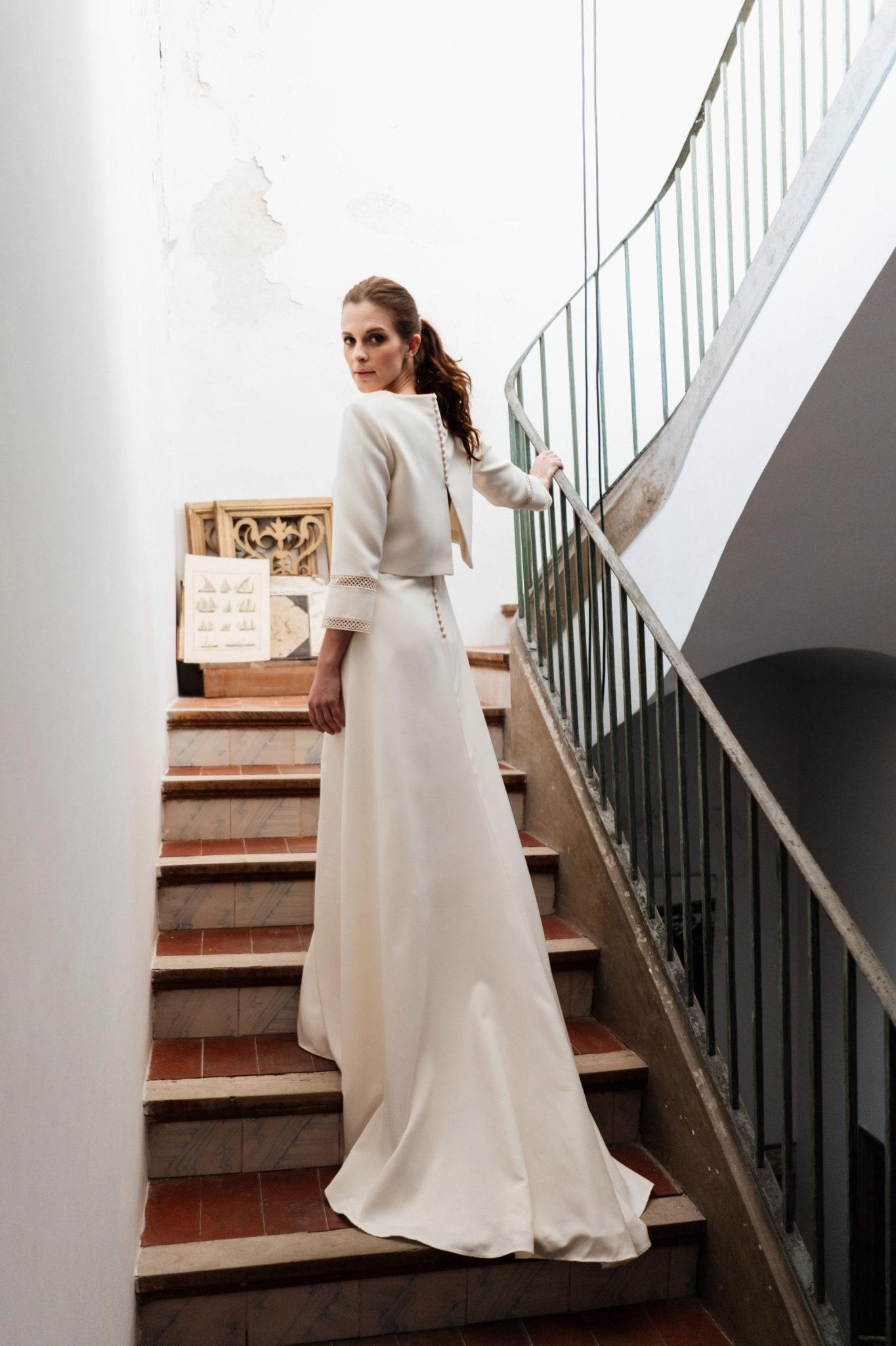 Vestido de novia Isa 19 by Veronica Miranda
